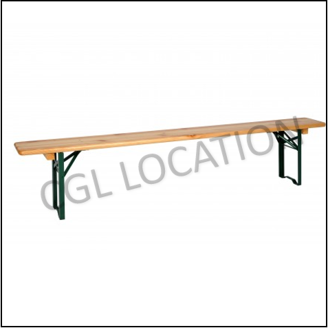 Mobilier : Banc 4 pers.
